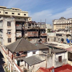 Havanna from a roof, March 2016